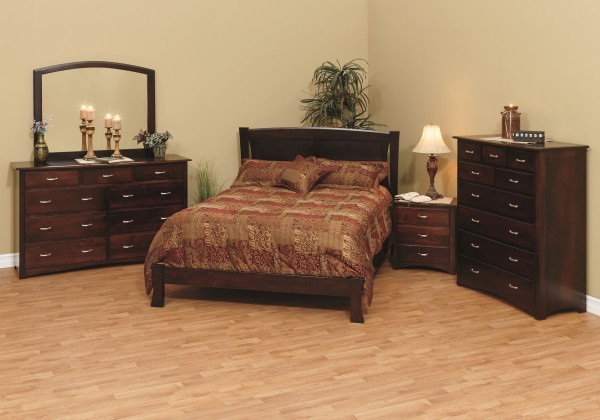 Lexington Bedroom Setting Solid Maple Bedroom Amish Bedroom