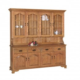 Brookville 4 Door Hutch