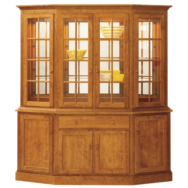 Shaker Canted Hutch