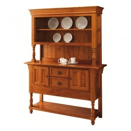 Bedford Sideboard Open Hutch