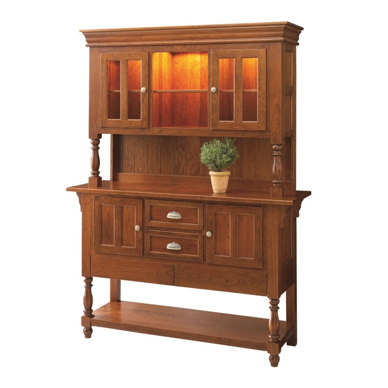 bedford sideboard hutch solid hardwood furniture