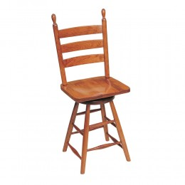 Classic Shaker Swivel Counter Stool