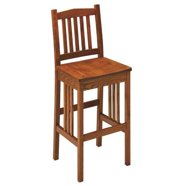 "Mission 30"" Bar Chair"