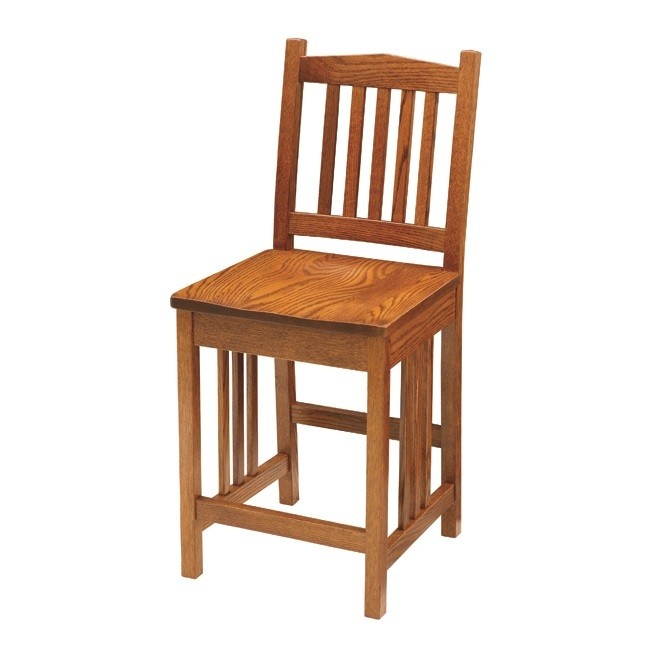 Mission Counter Chair Solid Hardwood Furniture Locally  : 355 2830 Mission Counter 800x800 from www.countrylanefurniture.com size 650 x 650 jpeg 50kB