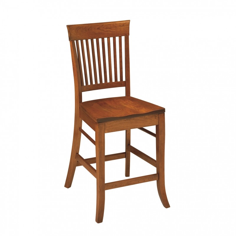 Harrison 24 Counter Chair Solid Hardwood Furniture Country Lane Furniture Pa Nyc Nj Md