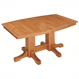Frederick Double Pedestal Table