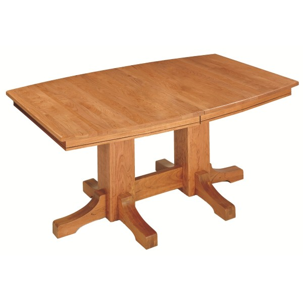 Frederick Double Pedestal Table