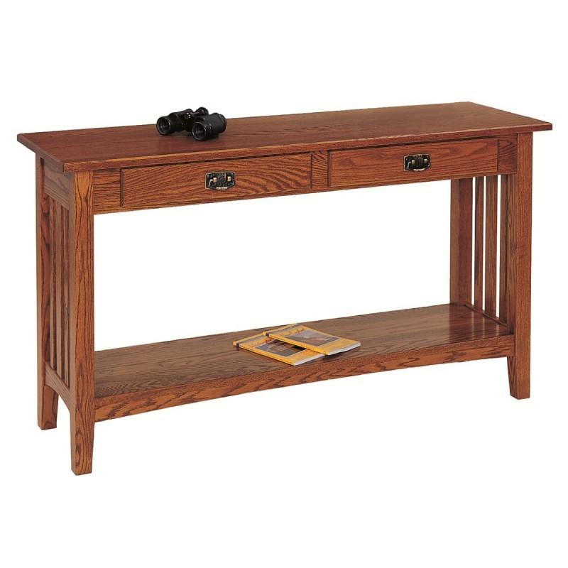 Mission Oak Sofa Table Olde Ohio