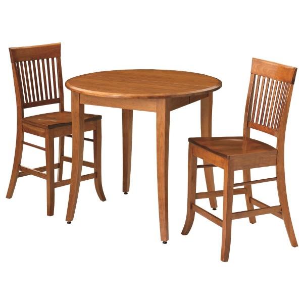 Madison Gathering Table Amish Handcrafted Pub Table  : 355 490 Madison Gathering Table Setting 600x600 from www.countrylanefurniture.com size 600 x 600 jpeg 53kB