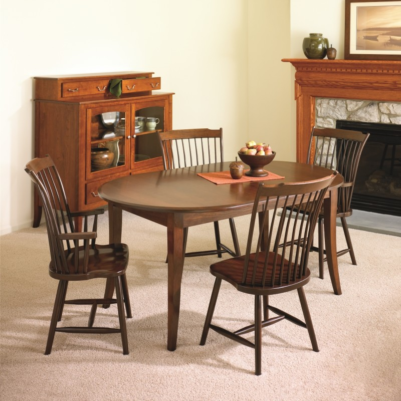 Madison Dining Set Amish Handcrafted Tables Solid