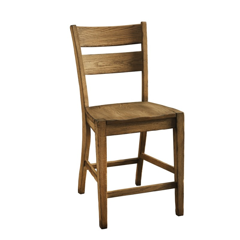 Canterbury 24 counter chair solid hardwood furniture for Furniture 24