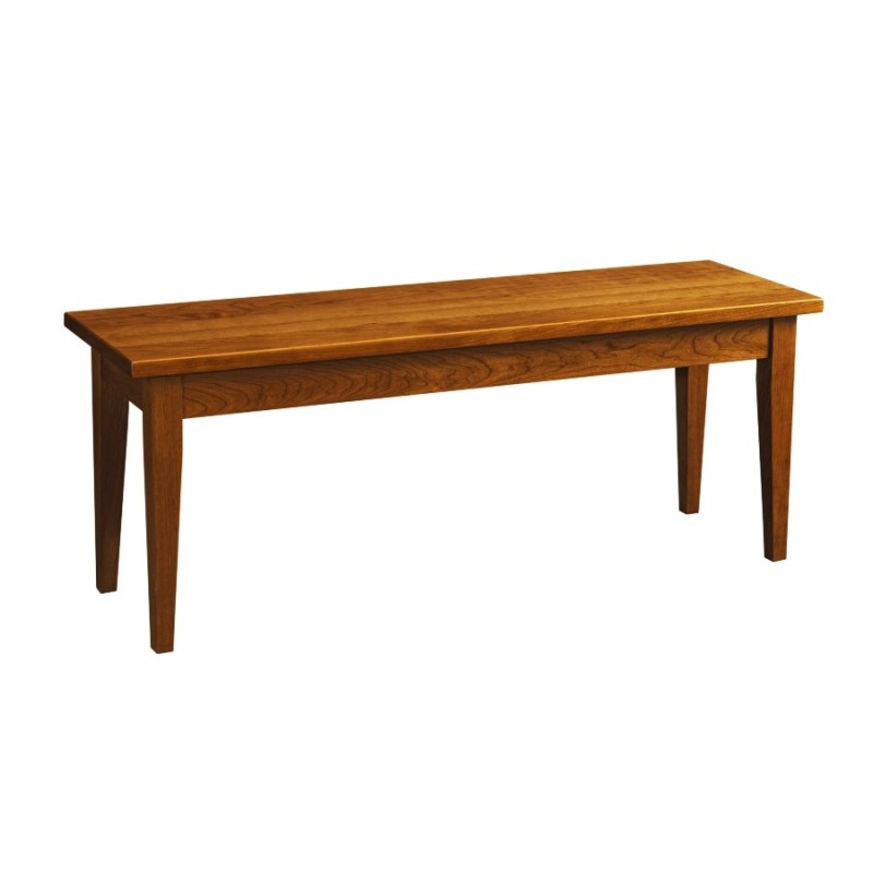 Shaker Bench Solid Hardwood Furniture Locally Handcrafted Benches Country Lane Furniture