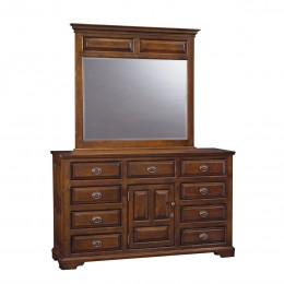 Coventry Triple Dresser & Mirror