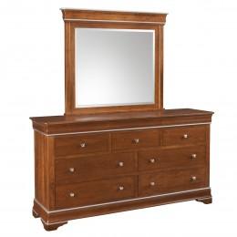 Versailles Triple Dresser & Mirror