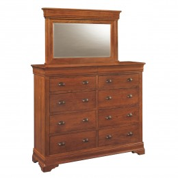 Versailles Double Dressing Chest & Mirror