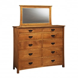 American Review Double Dressing Chest & Mirror