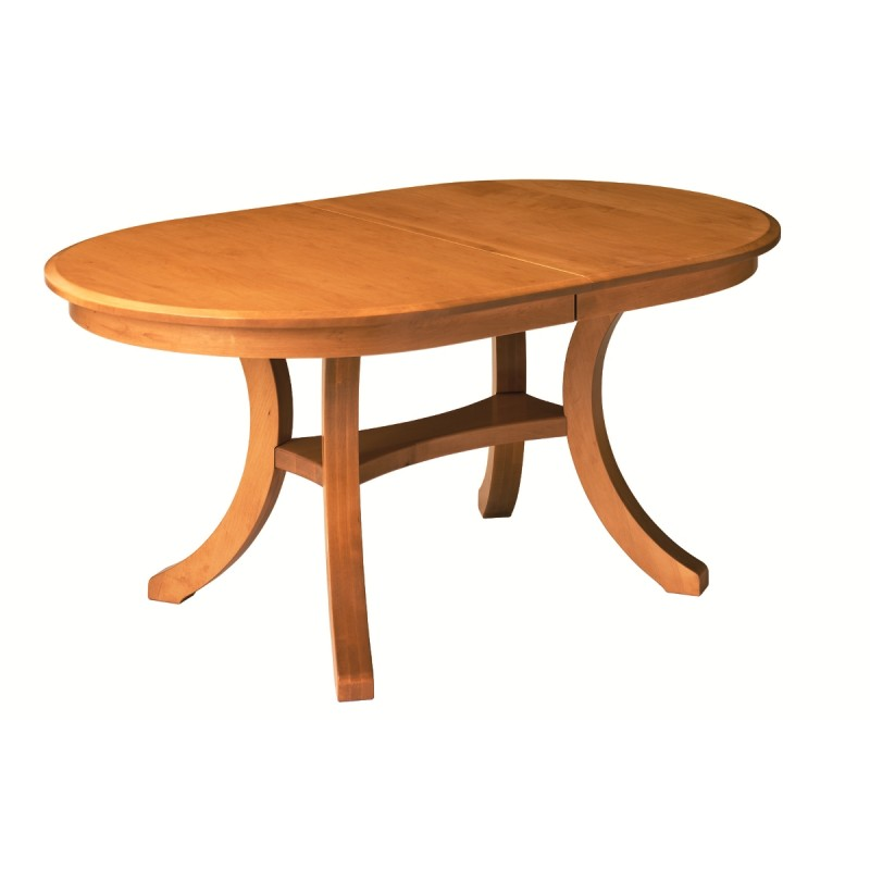 Solid Maple Dining Table Locally Handcrafted Furniture  : 355 800 Harrison Oval Table 2 800x800 from www.countrylanefurniture.com size 800 x 800 jpeg 42kB