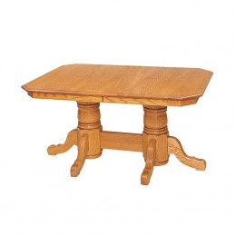 Heidelberg Double Pedestal Table