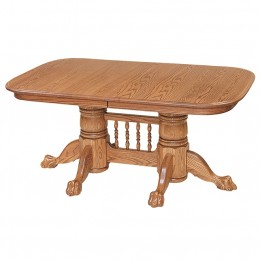 Newport Double Pedestal Table