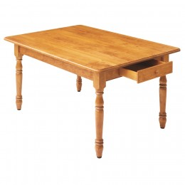 Country Farm Solid Top Table
