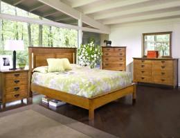 American Review Bedroom Set