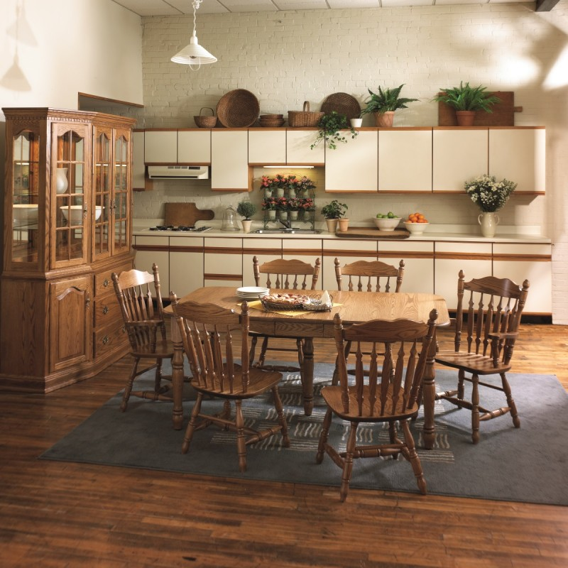 Country Harvest Dining Set | Locally Handcrafted Tables | Solid ...