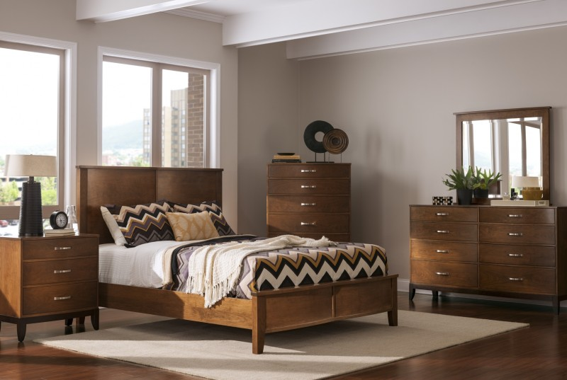 Logan View Bedroom Set Solid Cherry Bedroom Set Pa