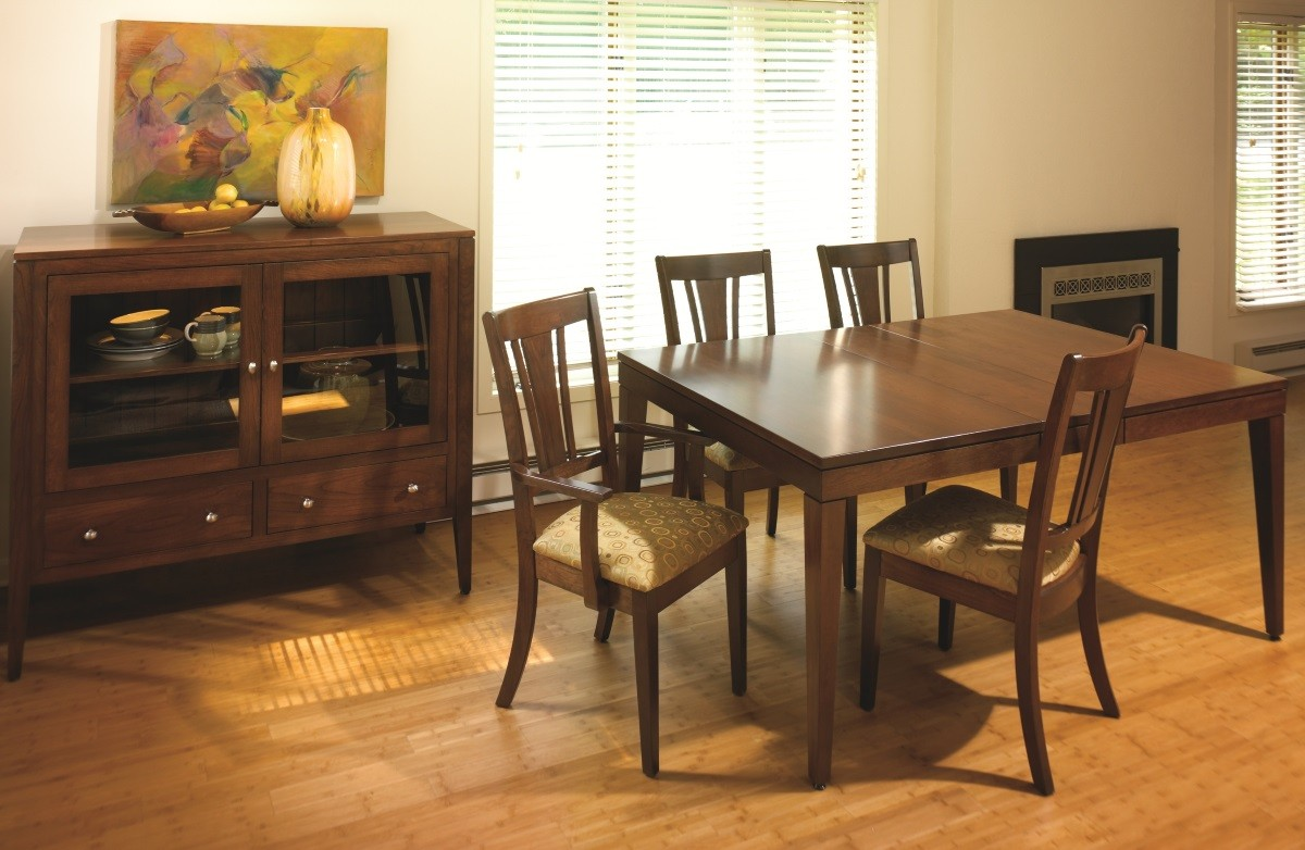 Metro Dining Set Locally Handcrafted Tables Solid