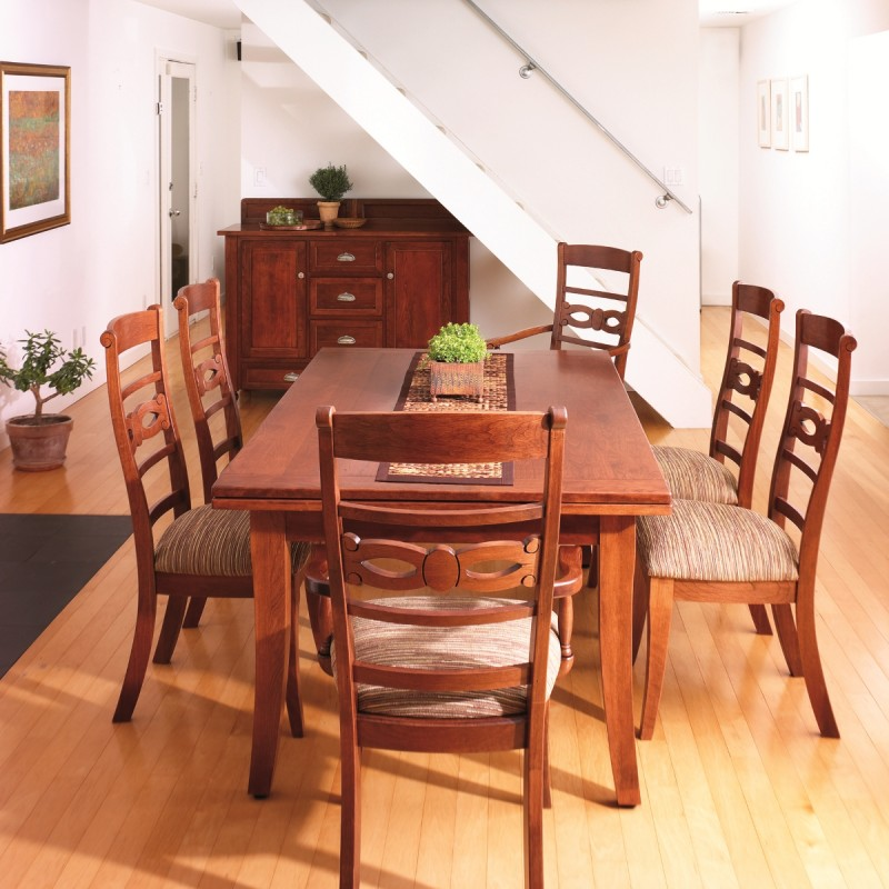 Incredible Somerset Stow Leaf Table Amish Handcrafted Tables Solid Interior Design Ideas Gentotthenellocom