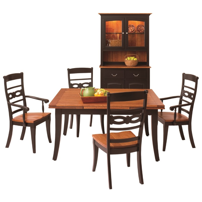 Phenomenal Somerset Stow Leaf Table Amish Handcrafted Tables Solid Interior Design Ideas Gentotthenellocom