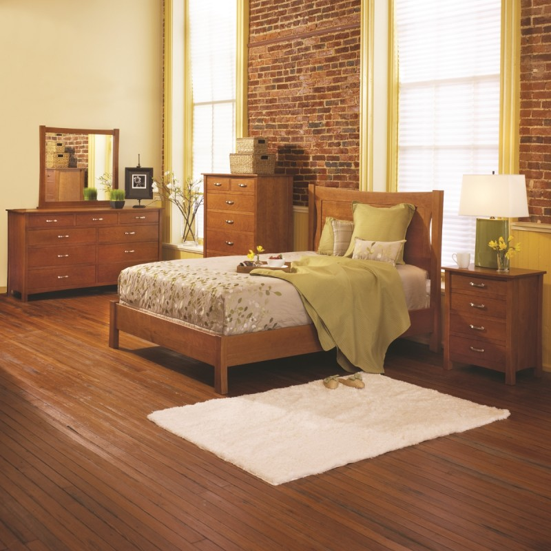 Transitions Bedroom Set Solid Cherry Bedroom Set
