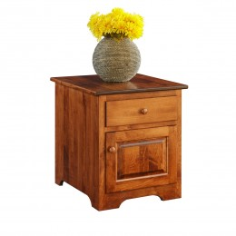 Shaker Cabinet End Table