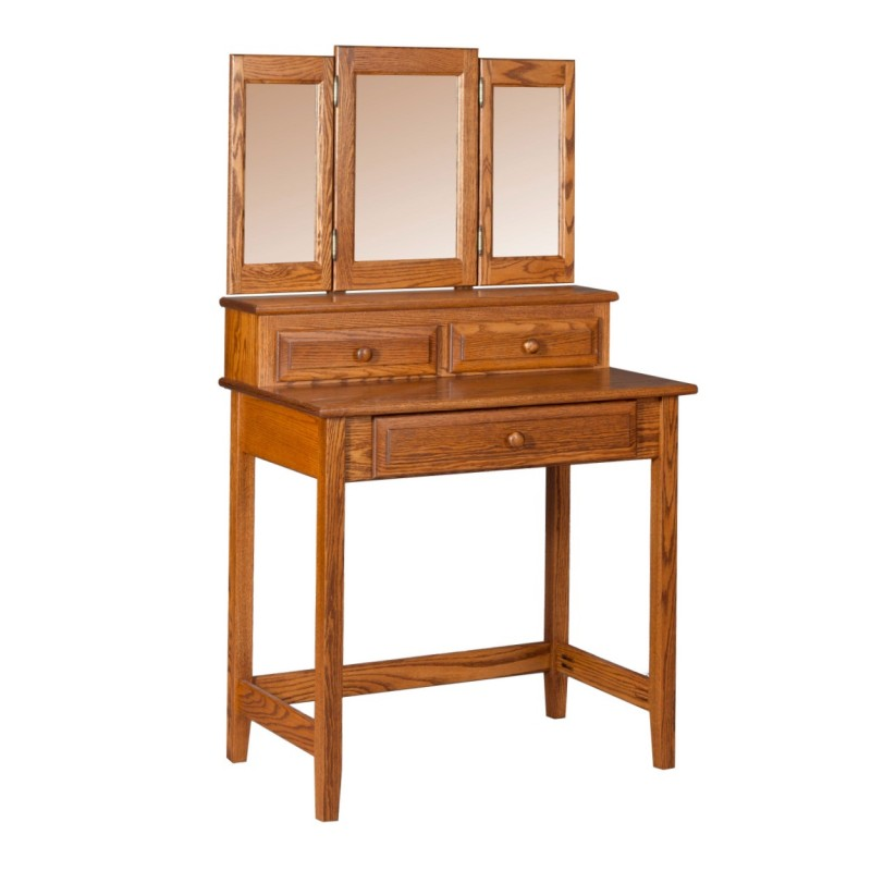 Vanity Table Amish Shaker Vanity Table Amp Mirror