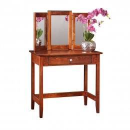 Shaker Vanity Table & Mirror