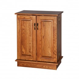 DVD & CD Storage Racks & Cabinets - Amish Crafted, Solid Wood ...