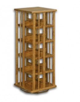 5 Tier CD Swivel Rack