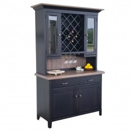 Custom Rochester Wine Hutch