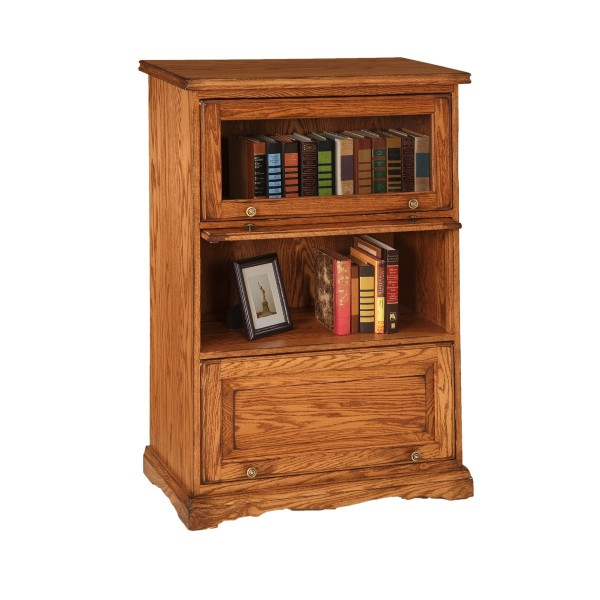 Traditional Barrister Bookcase