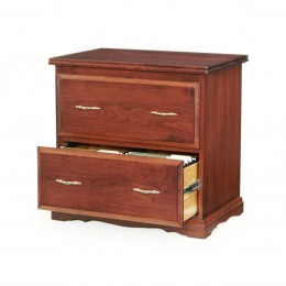 Traditional 2 Drawer Lateral File Cabinet