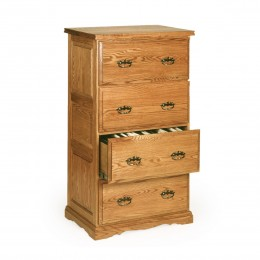 Traditional 4 Drawer Lateral File Cabinet