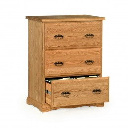 Traditional 3 Drawer Lateral File Cabinet