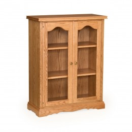 "Traditional 41"" Bookcase With Doors"