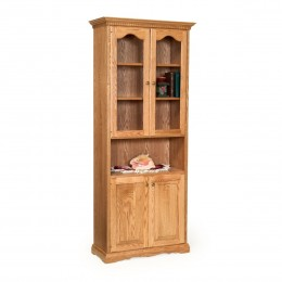 "Traditional 78"" Storage Cabinet"