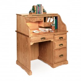 "Small 40"" Roll Top Desk"