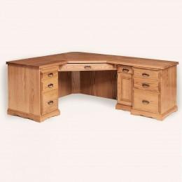 Traditional Corner Desk