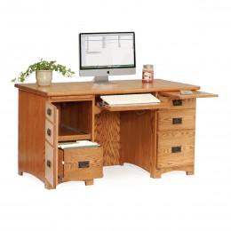 """Mission 55"""" Computer Desk"""