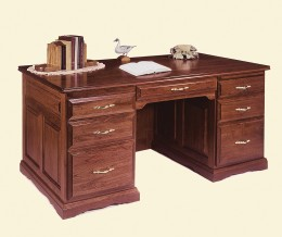 "Traditional 61"" Writing Desk"