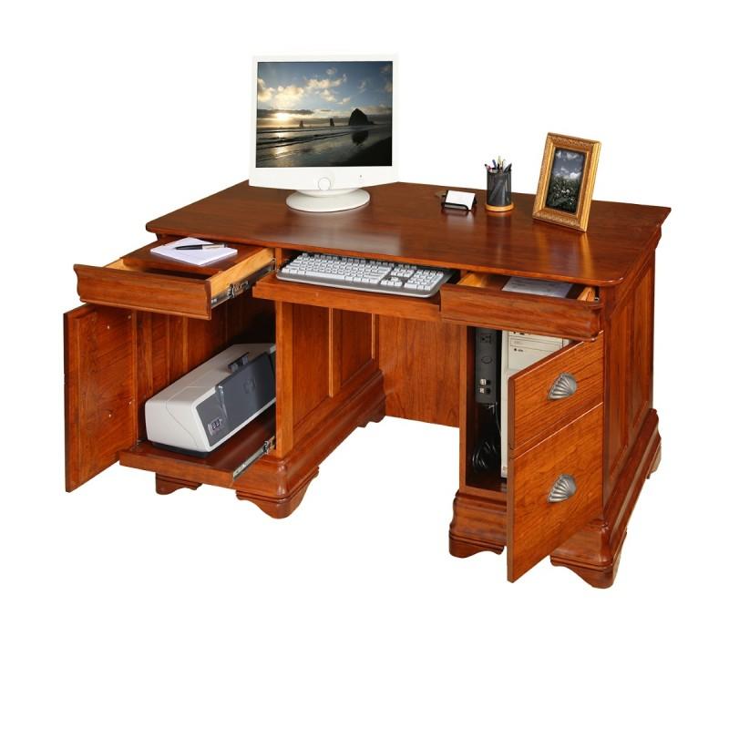 Le Chateau 55 Quot Computer Desk Amish Le Chateau 55