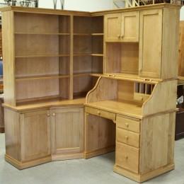 Custom Maple Corner Desk