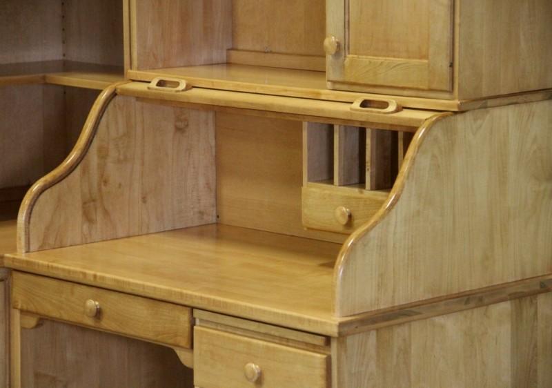 Custom Maple Corner Desk Country Lane Furniture